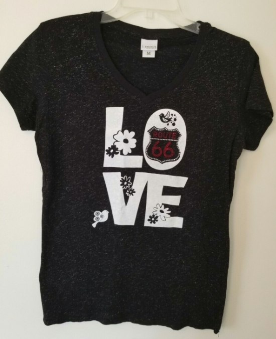 Love Route 66 Womens Shirt